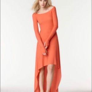 BCBGMAXAZRIA Aurela High low dress